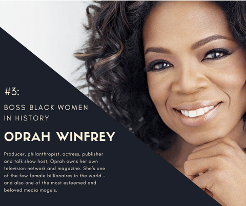 Oprah Winfrey Boss Black Women in History Enya's Attic