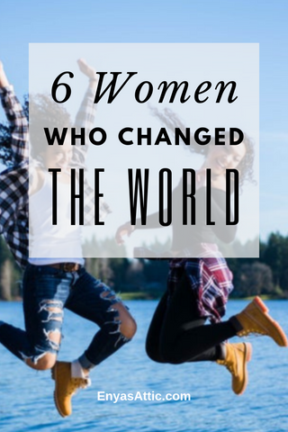 6 Women Who Changed the World, www.enyasattic.com, Marie Curie, Aphra Behn Fatima Al Fahri, Charlotte E. Ray