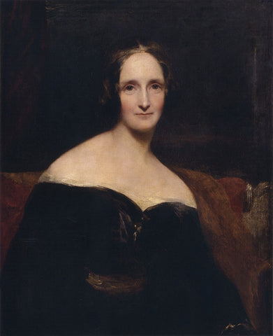 Enya's Attic, Mary Shelley, Frankenstein, enyasattic.com, books, women writers who changed the world
