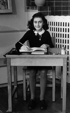 Anne Frank, girls who changed the world, enyasattic.com, The Diary of a Young Girl