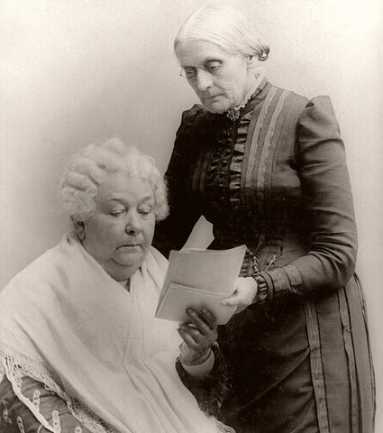 Female Friendships in History Susan B. Anthony and Elizabeth Cady Stanton Enya's Attic