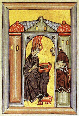 Hildegard of Bingen remarkable women in history 50th anniversary of Earth Day
