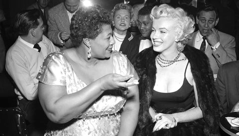 Female Friendships in History Ella Fitzgerald and Marilyn Monroe
