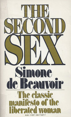 Simone de Beauvoir, The Second Sex, Women who changed the world, women writers, enyasattic.com