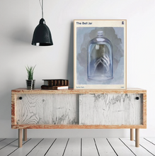 Load image into Gallery viewer, The Bell Jar by Sylvia Plath Wall Art