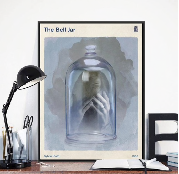 The Bell Jar by Sylvia Plath Wall Art