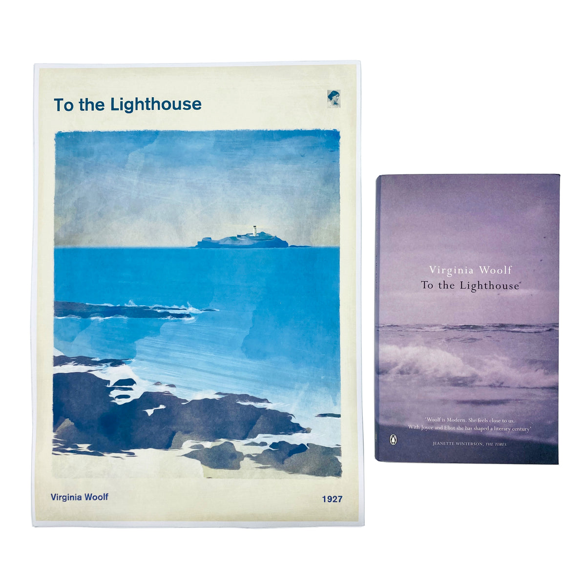 To the Lighthouse by Virginia Woolf Wall Art