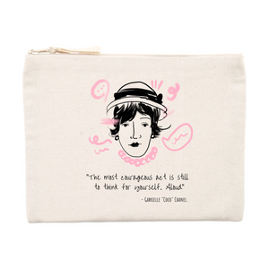 """Coco"" Pouch /Cosmetics Bag"