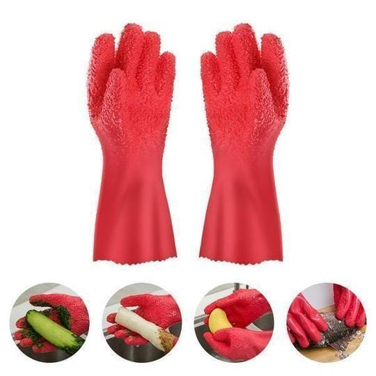 Vegetable Cleaner Gloves