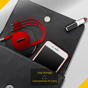 3 in 1 Telescopic Charging Cable