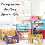 Transparent Folding Storage Box