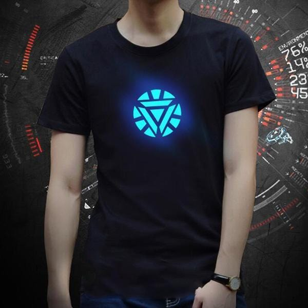 Avenger Voice Controlled LED T-Shirt