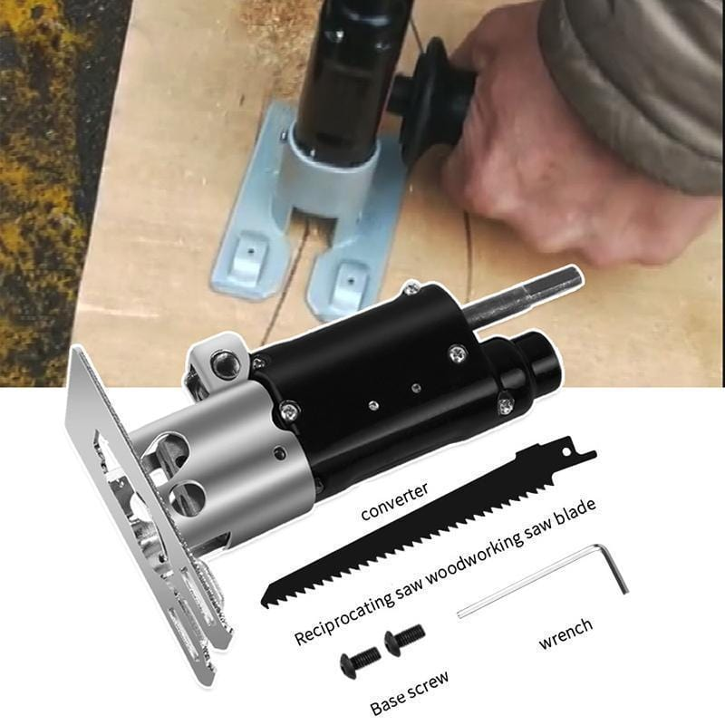 Reciprocating Saw Converter