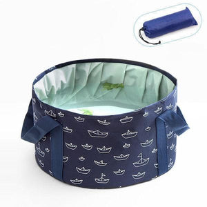 Foldable Portable Travel Bucket
