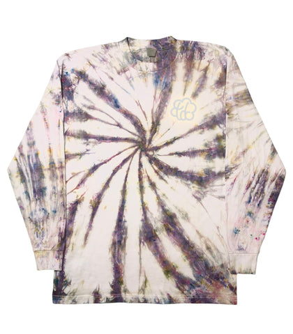 Candy Paint Tie Dye Swirl Long Sleeve T-Shirt