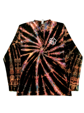 Galaxy Swirl Tie Dye Long Sleeve T-Shirt - The Tie Dye Company