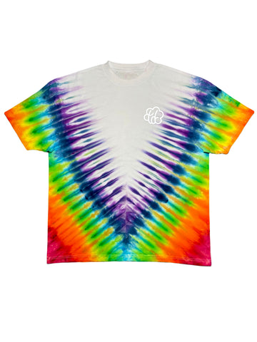 """Brooklyn"" Tie Dye Short Sleeve T-Shirt - The Tie Dye Company"