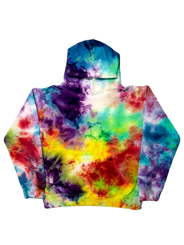 YOUTH ROYGBIV+ Tie Dye Pullover Hoodie - The Tie Dye Company