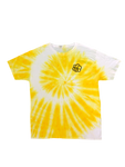 Sunshine Tie Dye Spiral Short Sleeve T-Shirt - The Tie Dye Company