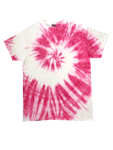 Hot Pink Spiral Tie Dye Short Sleeve T-Shirt - The Tie Dye Company