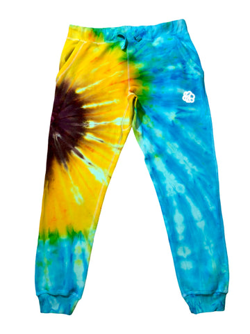Sunflower Tie Dye Jogger Pants - ADULT + YOUTH