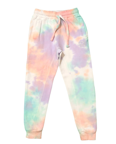 YOUTH Laffy Taffy Tie Dye Jogger Sweat Pants - The Tie Dye Company