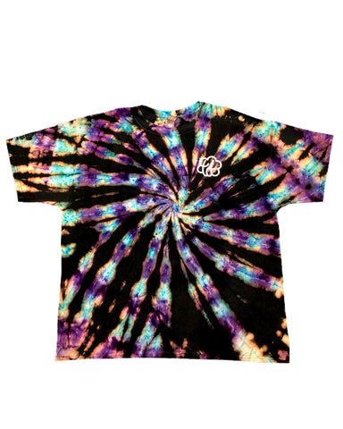 Diamondback Reverse Tie Dye Short Sleeve T-Shirt - The Tie Dye Company