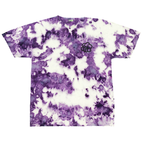"""Purple Haze"" Tie Dye Short Sleeve T-Shirt - The Tie Dye Company"