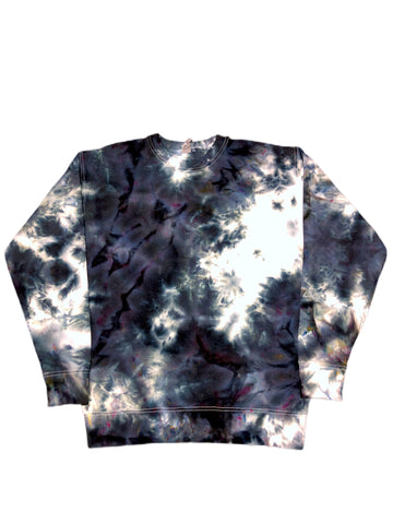 Brooklyn Tie Dye Fleece Crewneck