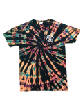 YOUTH ROY G. BIV Reverse Swirl Tie Dye T-Shirt - The Tie Dye Company