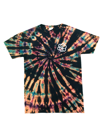 YOUTH ROYGBIV Reverse Swirl Tie Dye T-Shirt - The Tie Dye Company