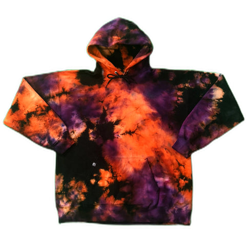 Black Phoenix Sunset Tie Dye Hoodie Sweatshirt - The Tie Dye Company