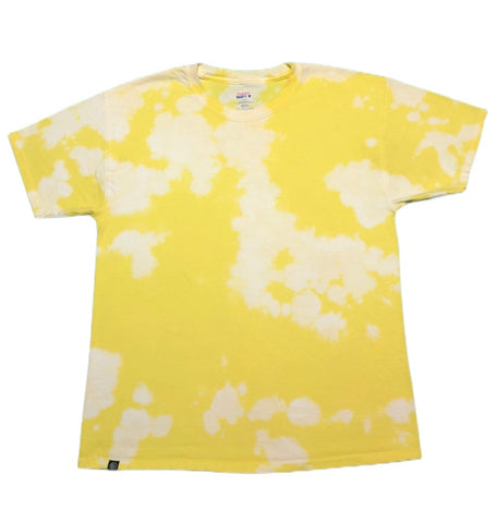 Yellow Acid Tie Dye Short Sleeve T-Shirt - The Tie Dye Company