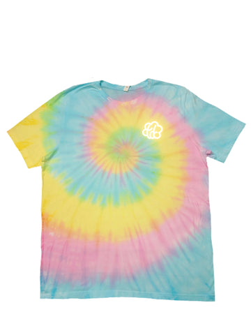 Cotton Candy Swirl Short Sleeve T-Shirt - The Tie Dye Company
