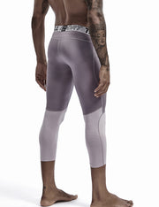 Compressive-Fit Training Tights Quick Dry(3/4 Length) 9604