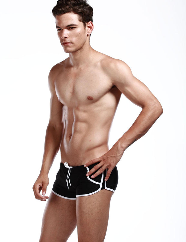 Pocket Low Rise Boxer Trunks Swimwear 20804