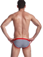 Low Rise Brief Stripe Swimwear 30901