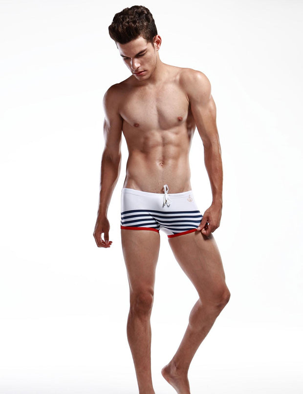 Low Rise Boxer Brief Stripe Swimwear 30803