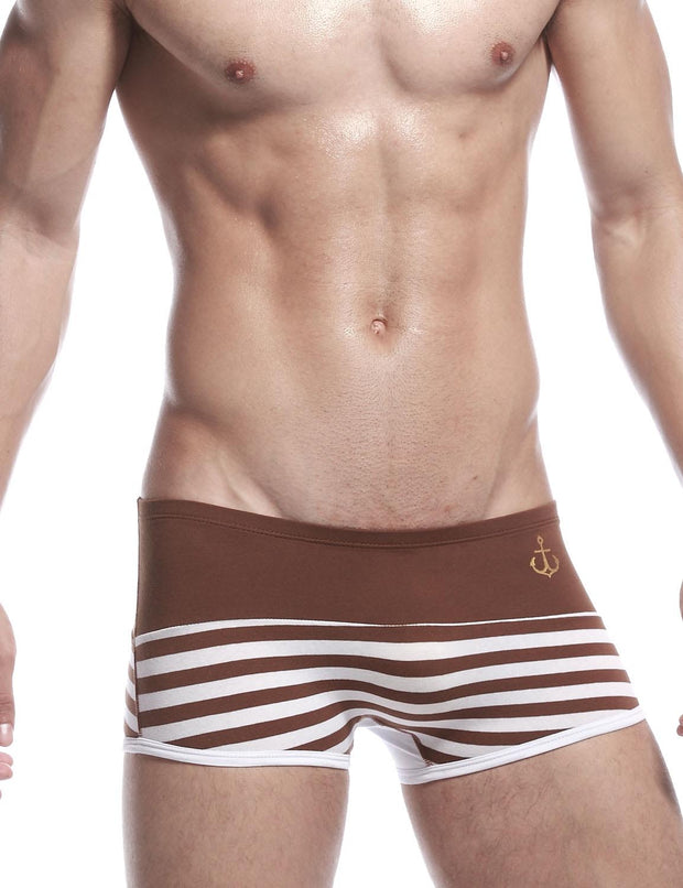 Stripe Low Rise Sexy Boxer Brief 30222