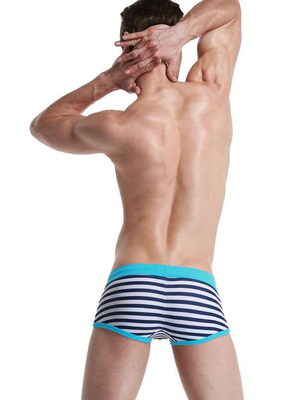 Low Rise Boxer Brief Stripe Swimwear 50806