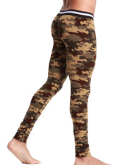 Low Rise Long Underwear Camouflage Long John 50401
