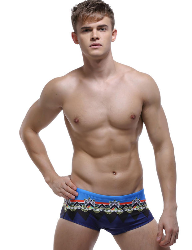 Low Rise Boxer Brief Visual Arts Swimwear 60801