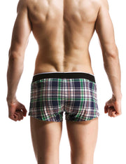 Low Rise Plaid Trunk Shorts 70501
