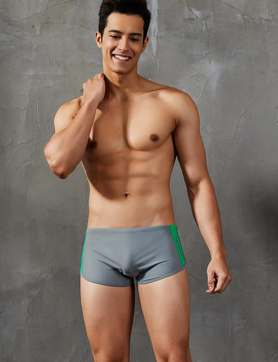 Boxer Brief Sexy Swim Trunks Swimwear 9403