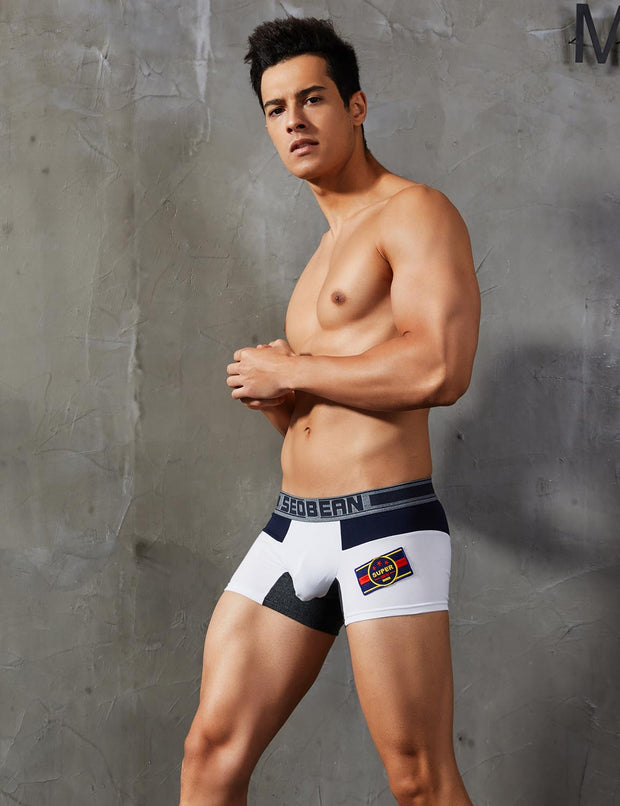 "Low Rise Boxer Brief ""Super"" Badge 90219"