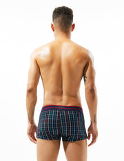 Plaid Low Rise Trunks 80501