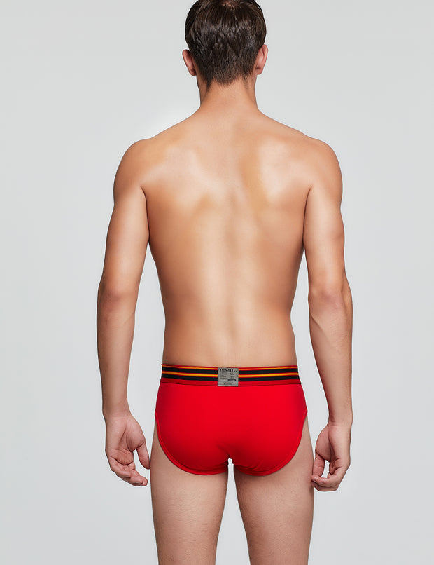 Cotton & Nylon Brief 9102