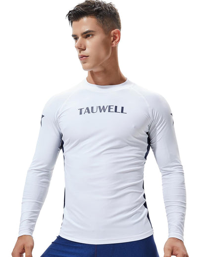 Men's Long Sleeve Rash Guard Surfing Shirt 8803