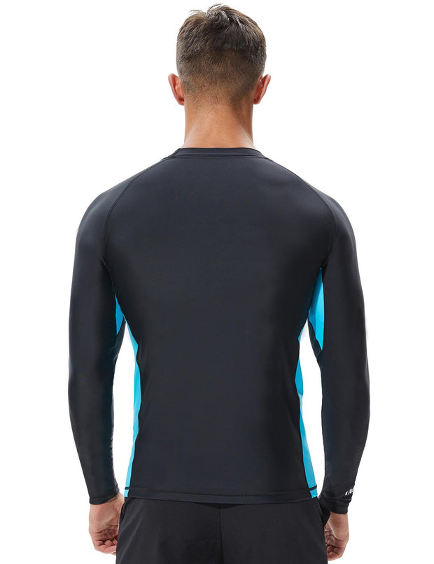 TAUWELL Men's Long Sleeve Rash Guard Surfing Shirt 8801
