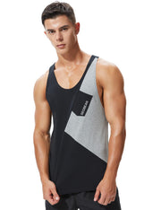 Gym Cotton Fitness Tank Top 90701